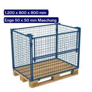 Gitteraufsatzrahmen 800 mm mit 50 x 50 mm Maschen
