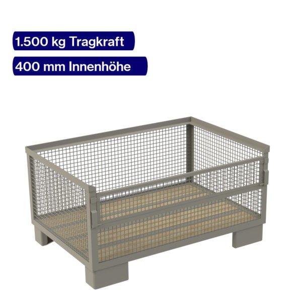 Gitterbox halbhoch - 900 kg