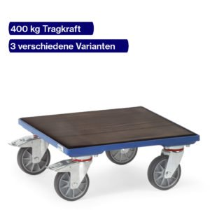 Kistenroller 400 kg mit rutschfester Oberfläche