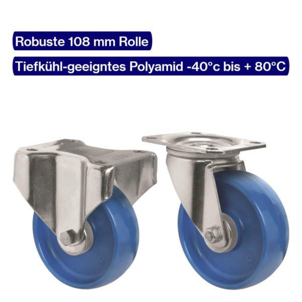 Polyamid Rolle für Rollwagen