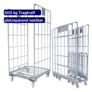 Gitterwagen nestbar - 500 kg - 800 x 700 mm