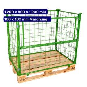 Gitteraufsatzrahmen 1200 mm mit 100 x 100 mm Maschen