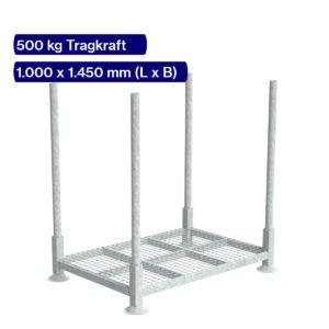 Kanalrohrgestell für Rohre bis 2 Meter Länge
